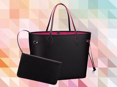 e19dfd2ee90b Latest Obsession  The Louis Vuitton Neverfull Tote in Contrast Epi Leather