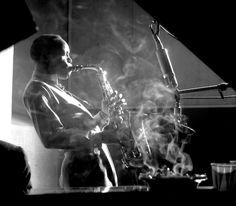 via kvetchlandia:  Herman Leonard   Sonny Stitt, New York City   1953