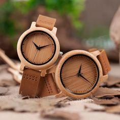 Wood Watches for Men & Women Wooden Watches Couples Sets Gifts – © Cool Watches, Watches For Men, Unique Watches, Amazing Watches, Watches Usa, Trendy Watches, Watches Online, Couple Watch, Wooden Watch