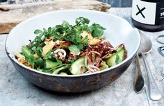 squid-salad-with-cucumber-watercress-and-cilantro