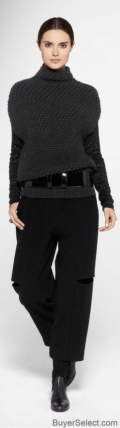 How To Wear Belts Sara Pacini Womens Designer Collection - Discover how to make the belt the ideal complement to enhance your figure. Knit Fashion, Look Fashion, Womens Fashion, Diy Tricot Crochet, How To Wear Belts, Winter Mode, Looks Chic, Mode Inspiration, Style Guides