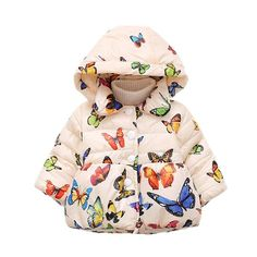 Now available on our store: Butterfly Printed... Check it out here! http://jagmohansabharwal.myshopify.com/products/butterfly-printed-puffer-coat?utm_campaign=social_autopilot&utm_source=pin&utm_medium=pin