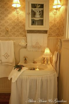 Creative Window Treatments Shabby Chic French Country
