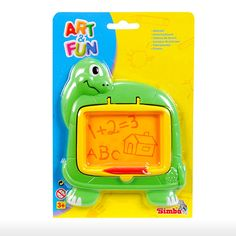 Simba Toys > 3y+ > Art and Fun Drawing Board - Green Turtle | Shop Online