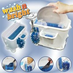 Buy Kitchen Supplies Mini Manual Plastic Dishwasher at Wish - Shopping Made Fun