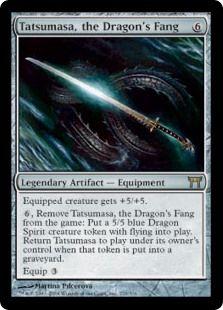 Tatsumasa, the Dragon's Fang #artifacts #equipment