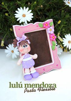Pasta Flexible Lulu Mendoza: Portaretratos para tus peques