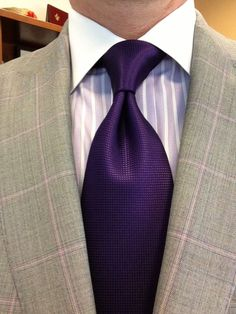 Sam Hober Tie: Dark Purple Diamond Weave Silk Tie 10 http://www.samhober.com/diamond-weave-silk-ties/