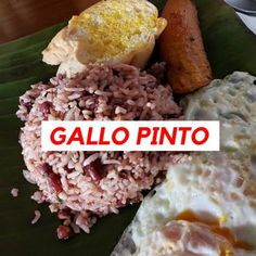 Costa Rica With Kids, Living In Costa Rica, Gallo Pinto, Costa Rican Food, Costa Rica Travel, Food And Drink, Fun Activities, Breakfast, Easy