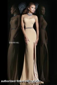 Sherri Hill Low Back Pageant Gown style 4321