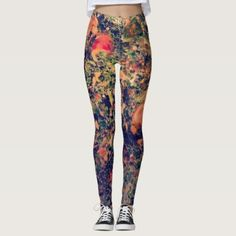 Abstract Leggings - diy cyo customize create your own personalize