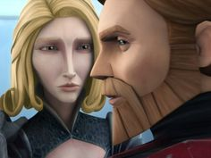 Anna Graves and James Arnold Taylor in Star Wars: The Clone Wars Star Wars Quotes, Star Wars Humor, Star Wars Clone Wars, Star Wars Art, Satine And Obi Wan, Duchess Satine, Satine Kryze, Jedi Cosplay, Star Wars Pictures