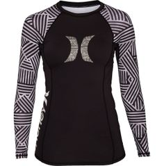Hurley Women's Basketweave Long Sleeve Rash Guard - Dick's Sporting Goods