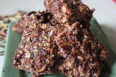 Chocolate Spice Cranberry Protein Bars