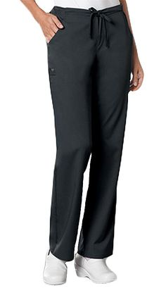Style Code: (CH-1066)  A low-rise, straight leg pant that features an elastic waistband with a functional drawstring. Also featured are two slash pockets, an instrument loop below the right side pocket and two back pockets. The right back pocket has multiple pin-tucks with a tonal zig zag design.