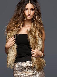 Fur Vest for this winter
