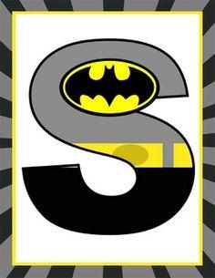 SUPER HERO - Classroom Decor: Superhero Banner LETTERS Batman And Batgirl, Baby Batman, Batman Spiderman, Batman Birthday, Batman Party, Superhero Birthday Party, Fathers Day Cake, Fathers Day Crafts, Superhero Classroom Theme