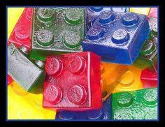 """""""Mega blocks"""" as jello molds"""