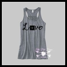 Army Love Flowy Racerback Tank, Army Wife, Army Daughter, Proud Military Wife, Military shirts by LittleButFierceCo on Etsy