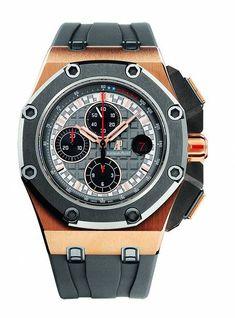 ♂ Masculine & elegant man's accessories watches royal oak offshore schumacher oro rosa Audemars Piguet Royal Oak Offshore Michael Schumacher (Video)