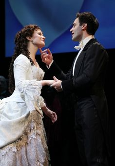 Broadway Theatre, Musical Theatre, Broadway Shows, Musicals Broadway, Pixar, Fantom Of The Opera, Ramin Karimloo, Sierra Boggess, Curtain Call