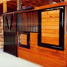 Would you love this horse stall in your barn?!!  From Classic Equine Equipment