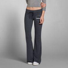 Womens A&F Flare Sweatpants | Womens Sweatpants | Abercrombie.com