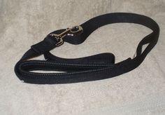 """6' Black Dog Leash Med to XXL Big Dog 1"""" Nylon PVC Cushion Handle Unisex Petmate #Petmate #DogLeash #ForStrongDogs"""