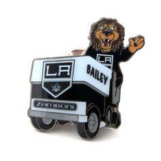 Los Angeles Kings Mascot on Zamboni Lapel Pin