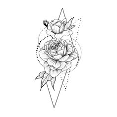 Roses in geometry Temporary Tattoo / Dots lines flash tattoo.- Roses in geometry Temporary Tattoo / Dots lines flash tattoo / Drawing flower Rosebud / Female Thigh tattoo Festival accessory Gift for Her Cute bracelet tattoo - Tattoo Design Drawings, Henna Tattoo Designs, Tattoo Sketches, Rose Drawing Tattoo, Rose Bud Tattoo, Geometric Tattoo Drawings, Tattoo Outline Drawing, Dotted Drawings, Art Drawings