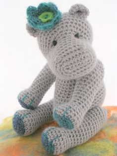 Ravelry: Hattie and Harry Hippo by Brú Bears