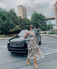 Chriselle Lim takes the Volvo Luxury SUV to shows during New York Fashion Week Volvo Cars, Volvo Xc90, Luxury Suv, Swedish Design, Pure Products, Elegant, Change, York, Live