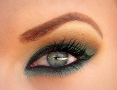 Teal and Warm Brown