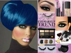 """Eye Makeup Trend"" by laurie-molly-downs on Polyvore"