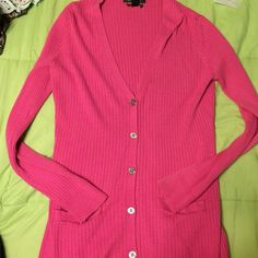 Ralph Lauren Pink Cardigan Super soft! Gently used and needs to find a good home! No damage or spots! Ralph Lauren Sweaters Cardigans