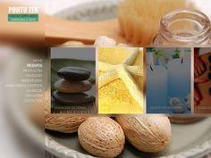 Tranquilidade e beleza foram os requisitos do Cliente Ponto Zen para este Website. Objectivo conseguido.