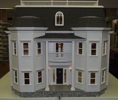 Foxhall Manor #1 : Miniature Designs, Full Service Dollhouse Miniature Shop in Georgia