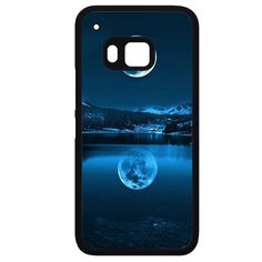The Moon Blue Full Moon HTC Phonecase For HTC One M7 HTC One M8 HTC One M9 HTC One X