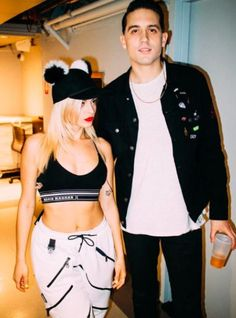 "Goodnight World"" ~Bebe Rexha and G-Eazy on The Tonight Show with Jimmy Fallon :) Bebe Rexha, Pretty People, Beautiful People, Beautiful Pictures, G Eazy Style, Best Rapper, Nicki Minaj, Hollywood Actresses, Celebrity Style"