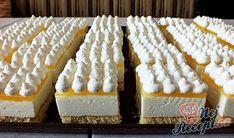Hungarian Desserts, Hungarian Recipes, Torte Cake, Cake Bars, Baking Recipes, Cookie Recipes, Individual Desserts, Czech Recipes, Cold Desserts