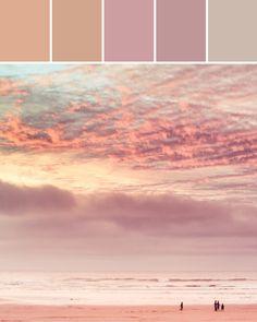 Pink Sunset Designed By Ange Gaffke via Stylyze