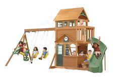 Charmant Ashberry II Cedar Playset By Big Backyard | Wooden Swingsets U0026 Playsets |  Backyard Imagination