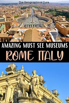 Rome Museums, Travel Guides, Travel Tips, Museum Guide, Rome Itinerary, Day Trips From Rome, Hiking Europe, Sistine Chapel, Rome Travel