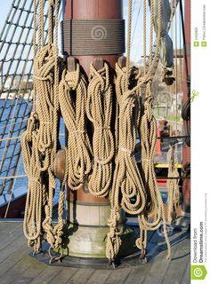 tall ship ropes and knots | Tall Ship Rigging