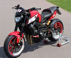 2016 Yamaha MT-09 Street Rally - Google Search