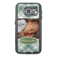 Custom Popular Trending Tartan Plaid Pattern OtterBox Samsung Galaxy S6 Case - trendy gifts cool gift ideas customize