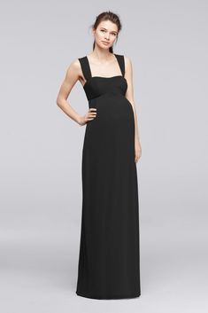 Dessy Collection Maternity Bridesmaid Dress M429 Pinterest Dresses And Weddings