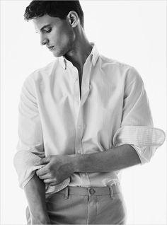 Garrett Neff Models Massimo Dutti Spring Summer 2017 Collection
