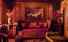 Egyptian Colors for a Bedroom | The Egyptian Bedroom from Mayfair third floor | Flickr - Photo Sharing ...