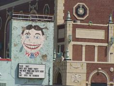 """Tilley"" on the side of the Wonderbar on Cookman Ave., Asbury Park, the funkiest town in New Jersey!"
